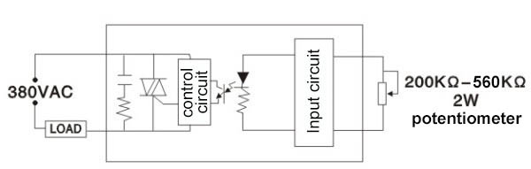 phase control ssr,phase control solid state relay china sanying